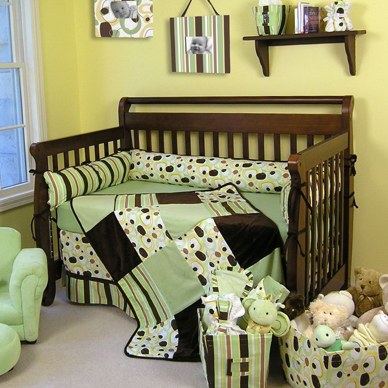 Cute Boy Crib Bedding Sets