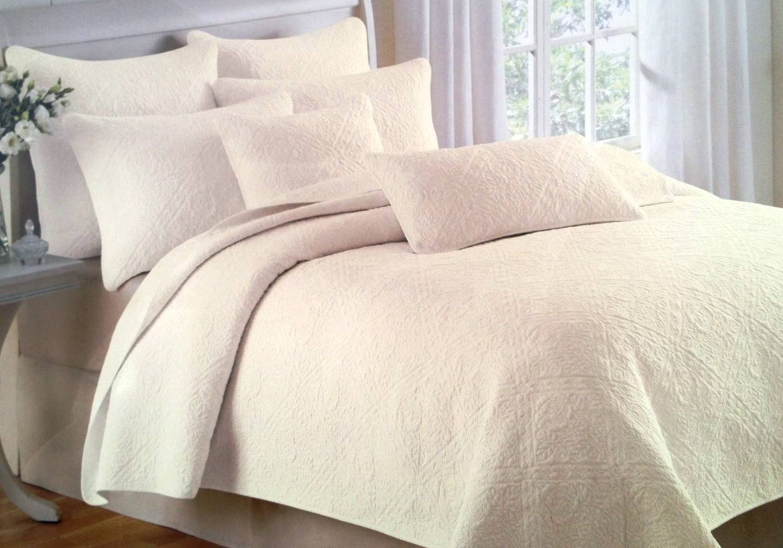 Cynthia Rowley White Ruffle Bedding