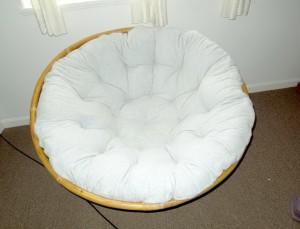 Diy Papasan Chair Cushion
