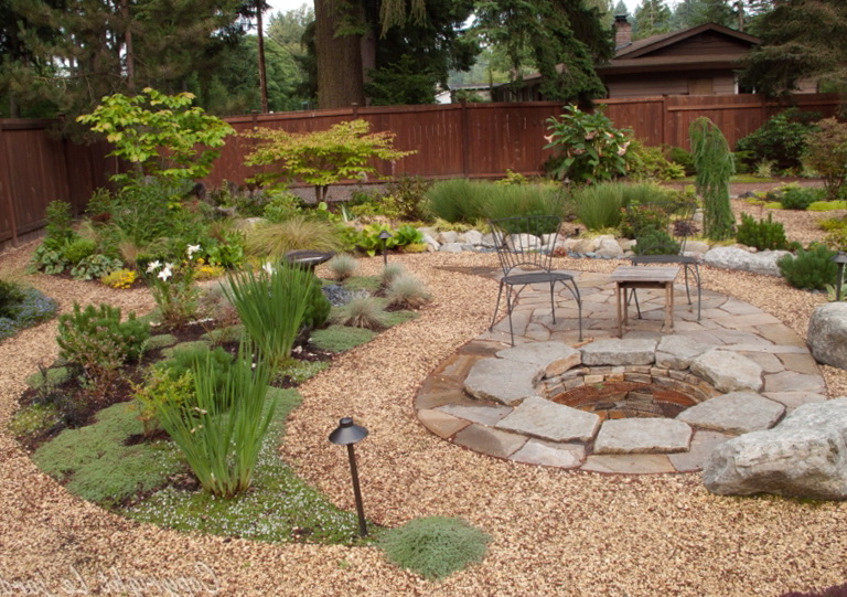 Diy Stone Patio Ideas