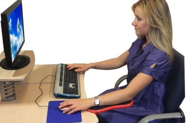 Ergonomic Desk Chair Pad