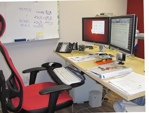 Ergonomic Desk Chair Setup