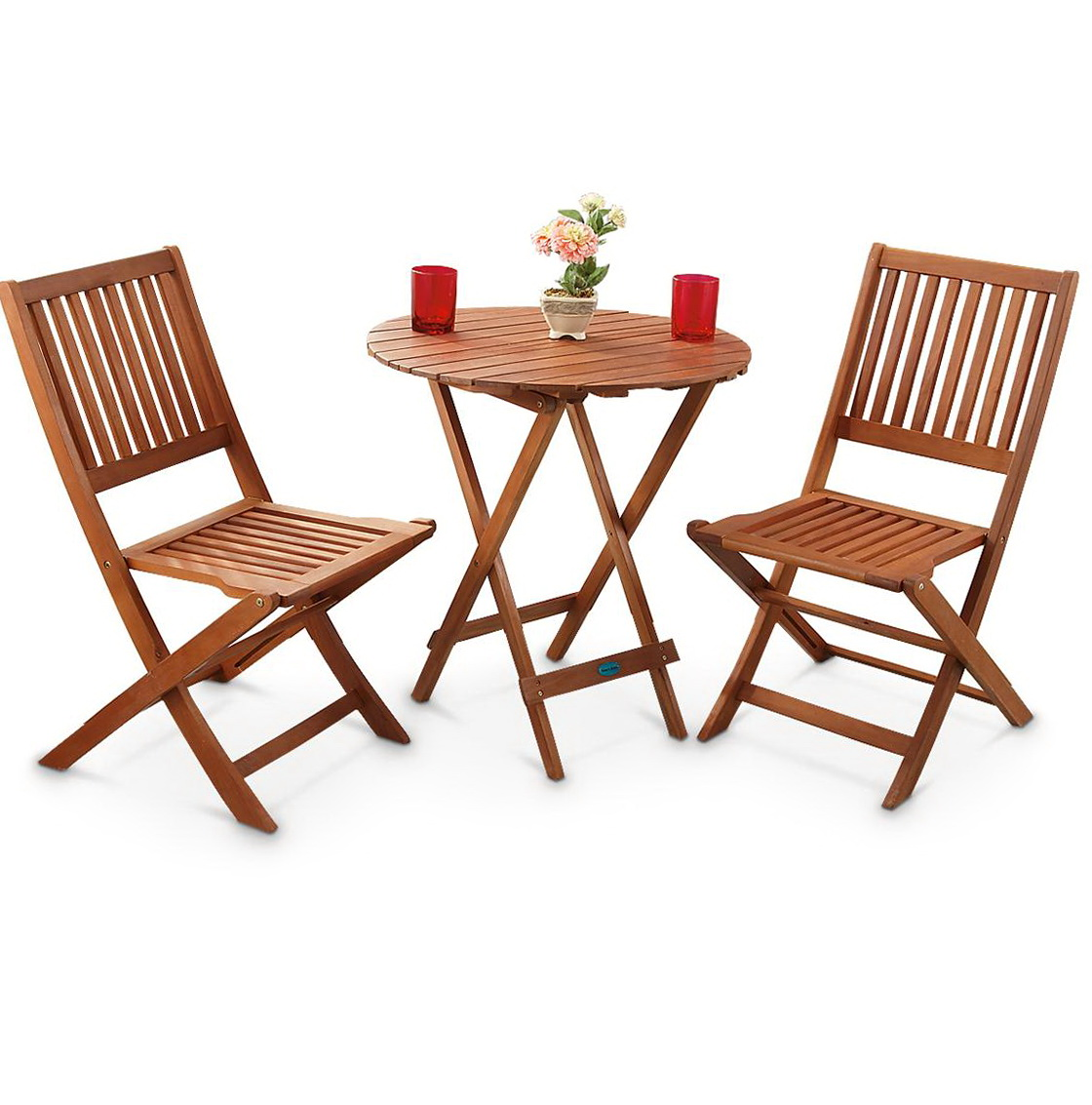 Folding Card Table And Chairs Set