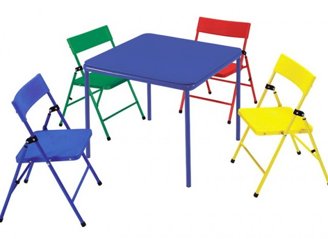 Folding Table And Chairs For Toddlers