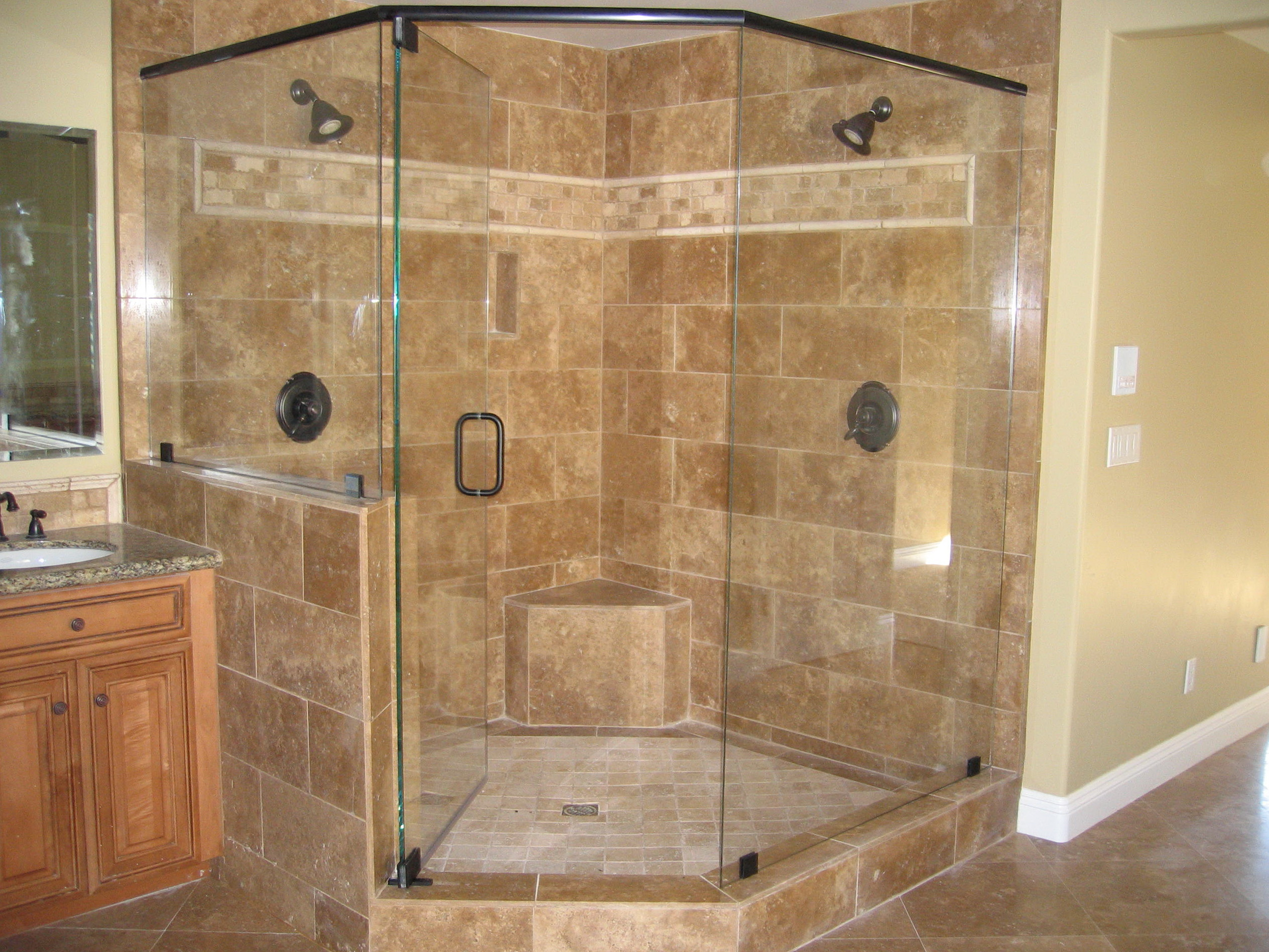 Frameless Shower Doors Corner