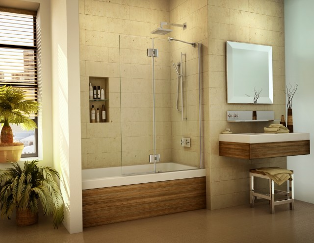 Frameless Shower Doors For Bathtubs