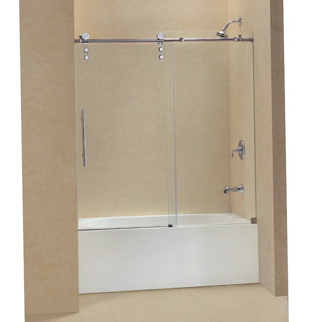 Frameless Shower Doors With Tub