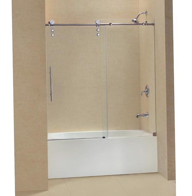 Frameless Shower Doors With Tub
