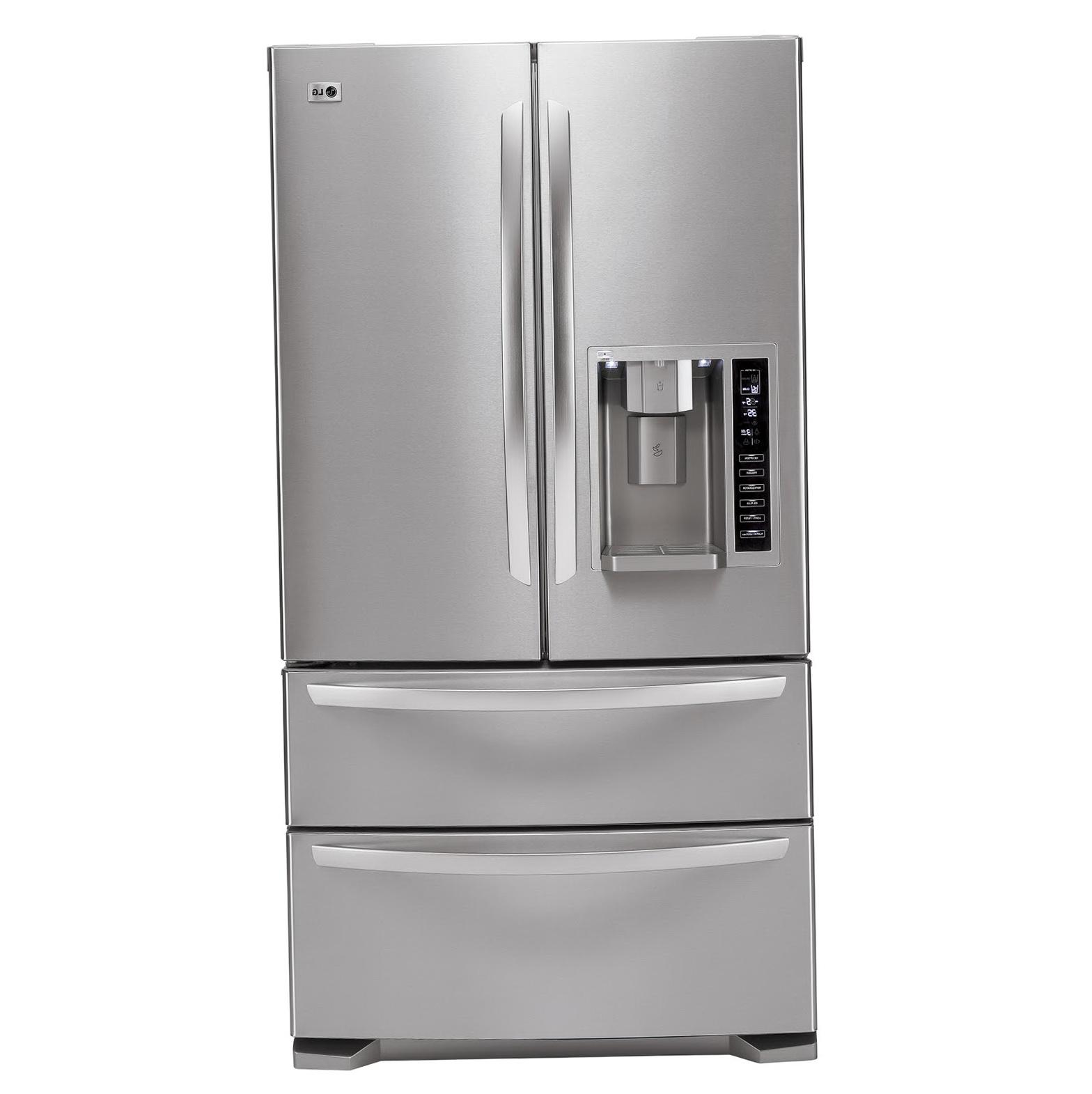 French Door Refrigerator Lg