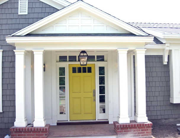 Front Door Colors For Gray House