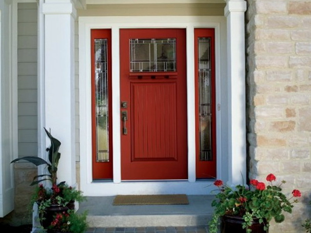 Front Door Colors With Tan Siding