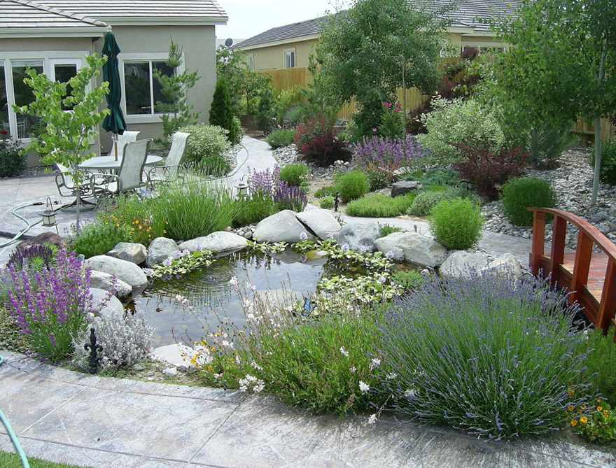 Front Patio Garden Ideas