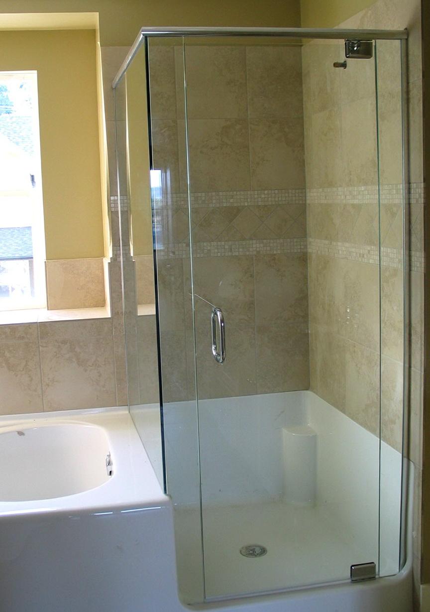 Glass Shower Doors Corner