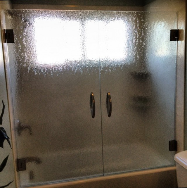 Glass Shower Doors Over Tub