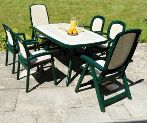 Green Plastic Patio Chairs