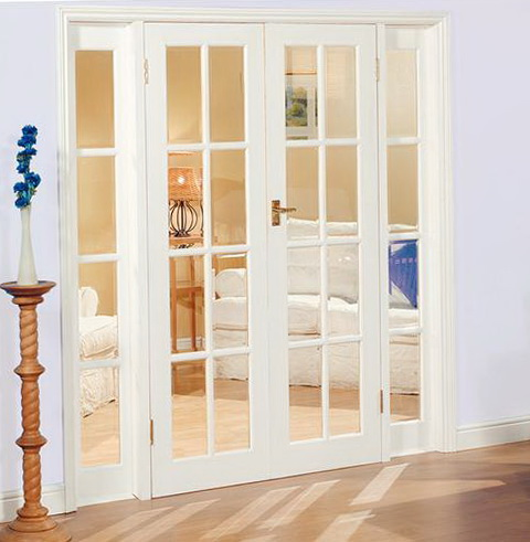 Interior French Doors With Sidelights