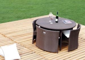 Modern Patio Dining Set
