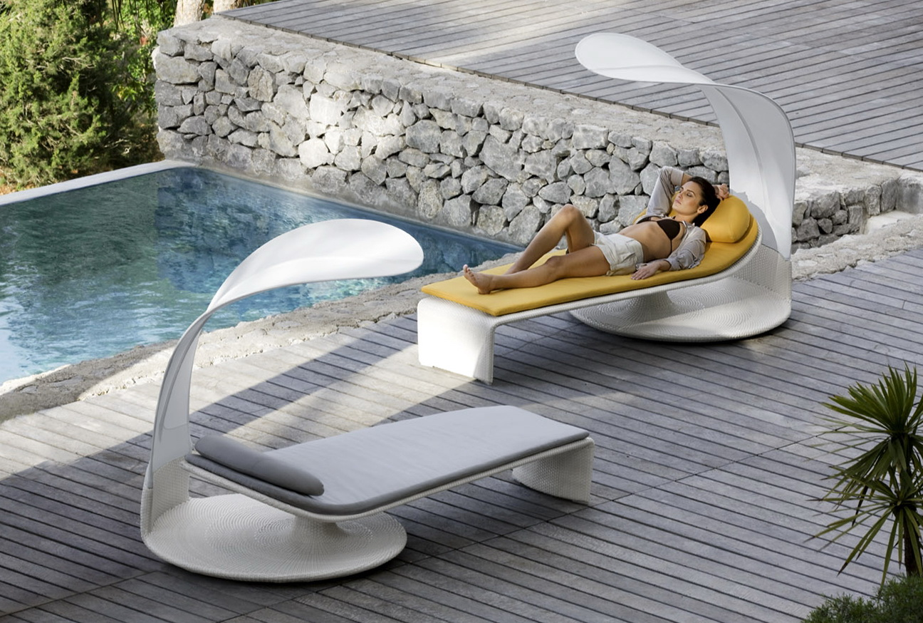 Modern Pool Lounge Chairs