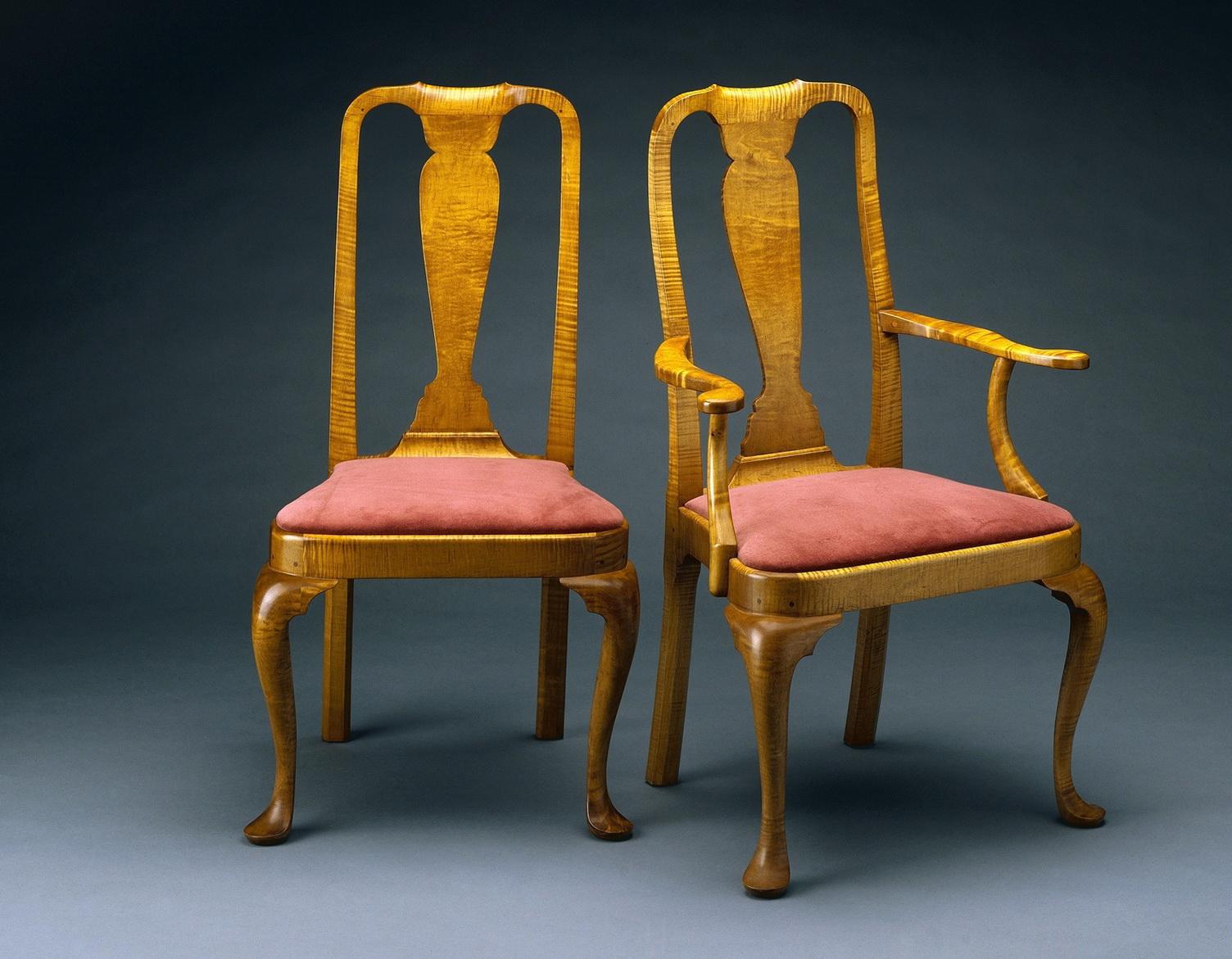 Modern Queen Anne Chair