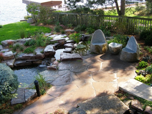 Natural Stone Patio Ideas