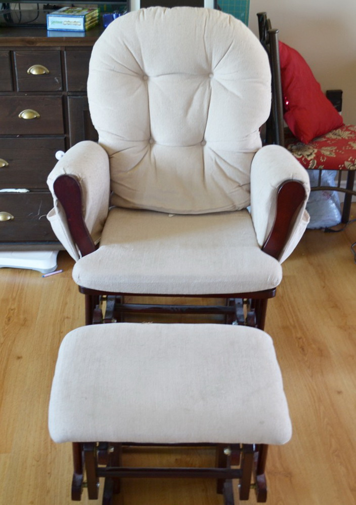 Nursery Glider Rocking Chair