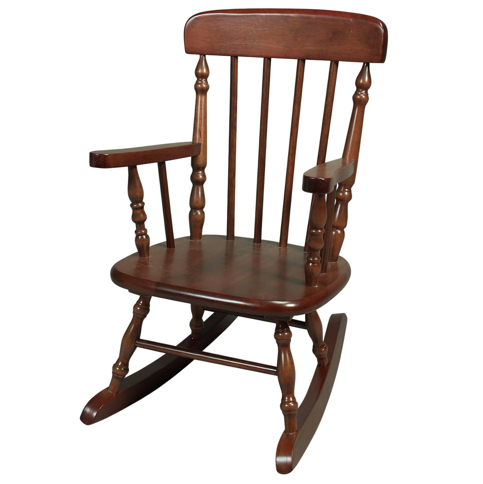 Old Wooden Rocking Chairs