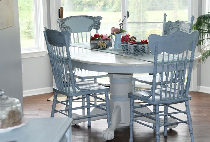 Painted Kitchen Tables And Chairs Ideas
