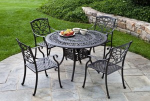Painted Metal Patio Furniture