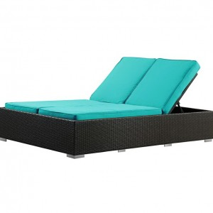 Patio Chaise Lounge For Two