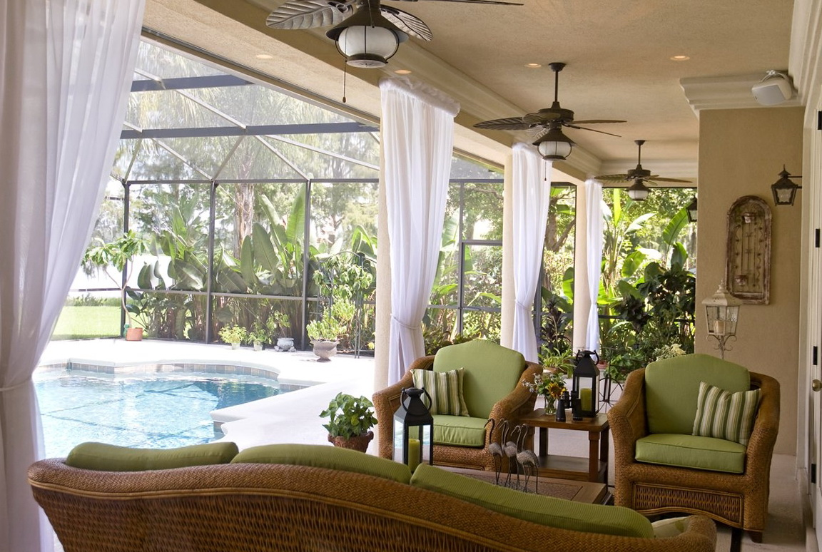 Patio Decorating Ideas Curtains