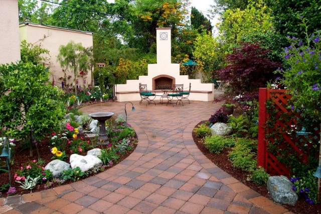 Patio Garden Ideas Pictures