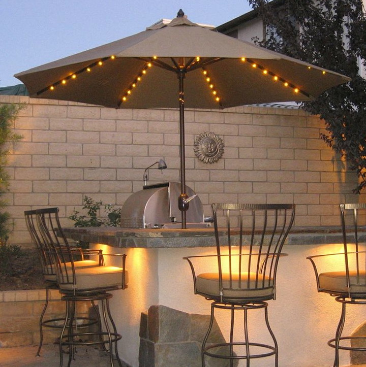 Patio Umbrella Lights Lowes