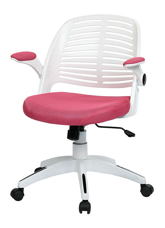 Pink And White Office Chair