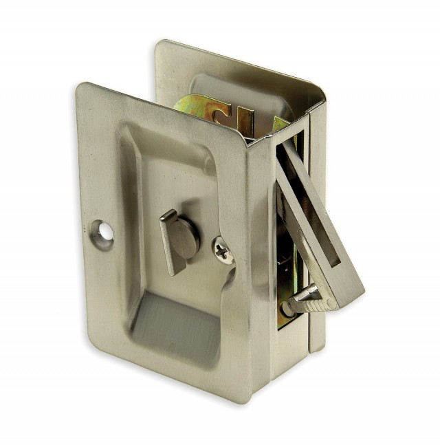 Pocket Door Hardware Lock