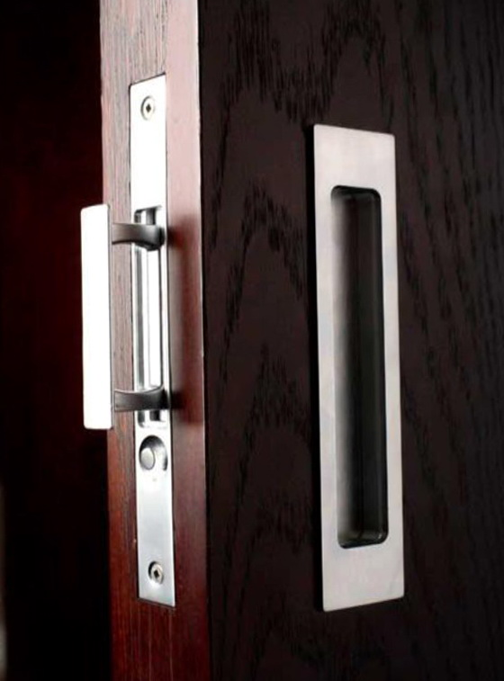 Pocket Door Hardware Privacy