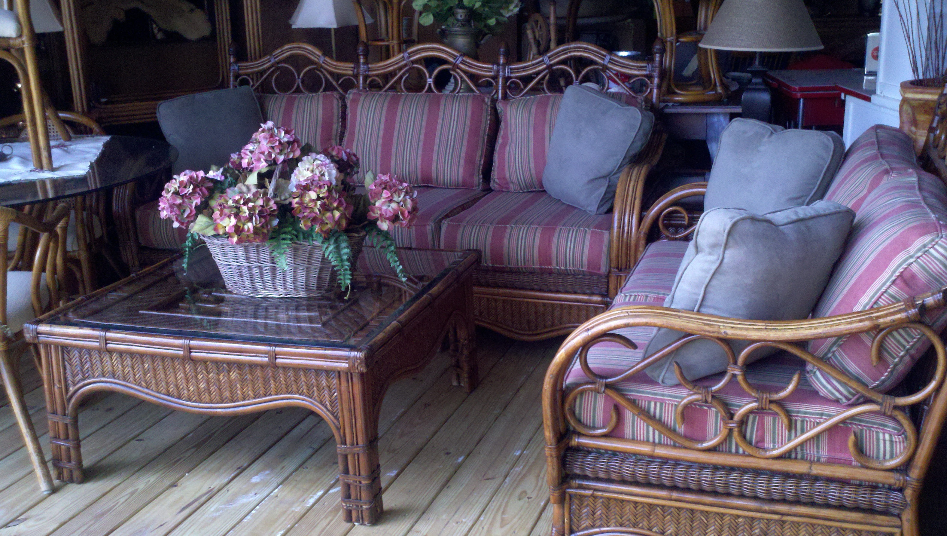 Purple Outdoor Patio Cushions