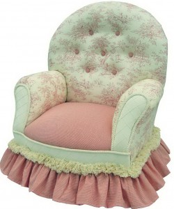 Queen Anne Chair Pink