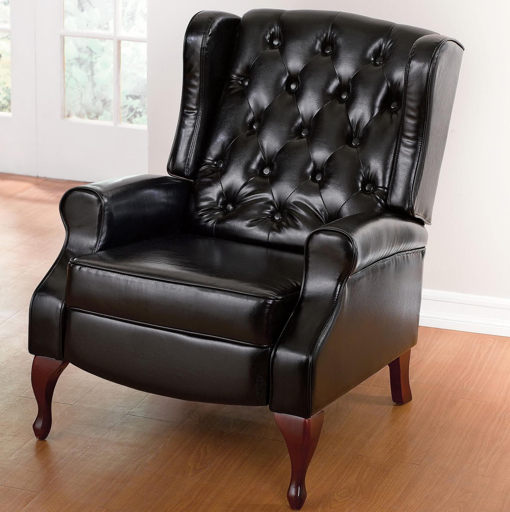Queen Anne Chair Recliner
