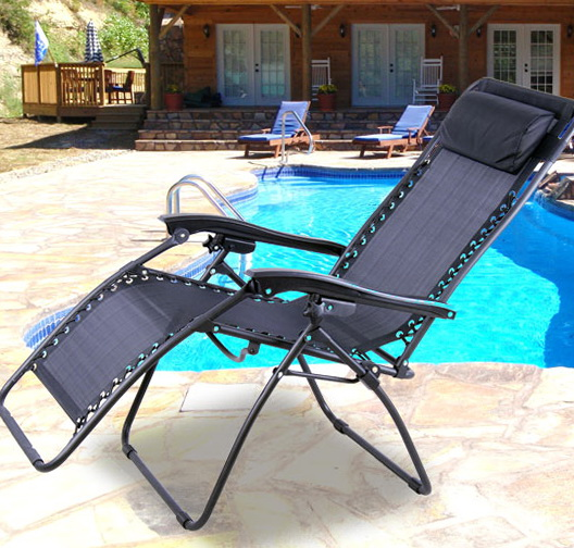 Reclining Pool Lounge Chairs