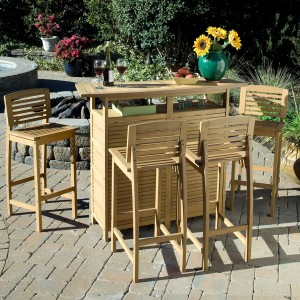 Rectangular Pub Table And Chairs