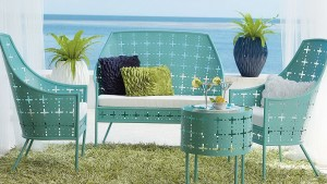 Retro Metal Patio Furniture