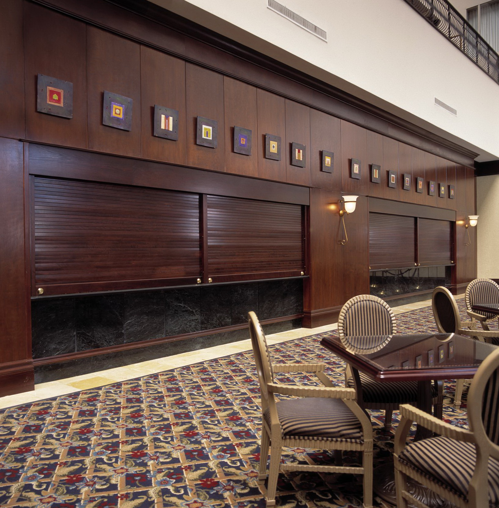 Roll Up Doors Interior Residential