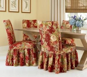 Ruffle Dining Chair Slipcovers