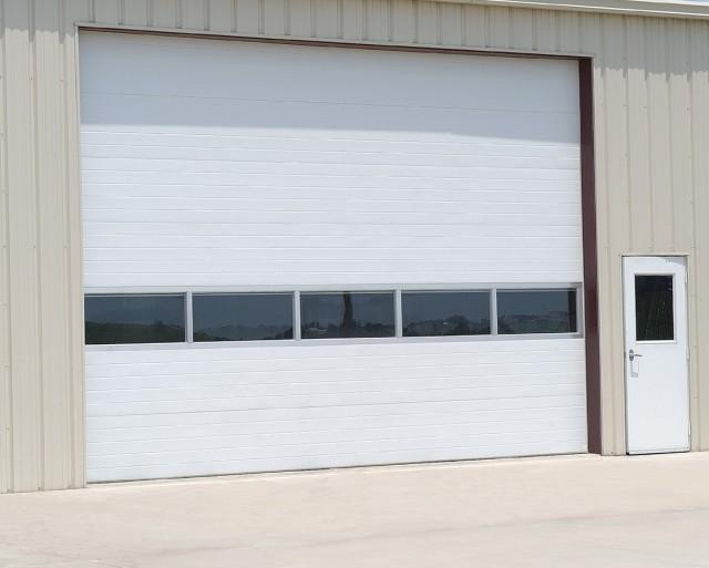 Sectional Overhead Garage Doors