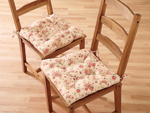 Shabby Chic Dining Chair Cushions