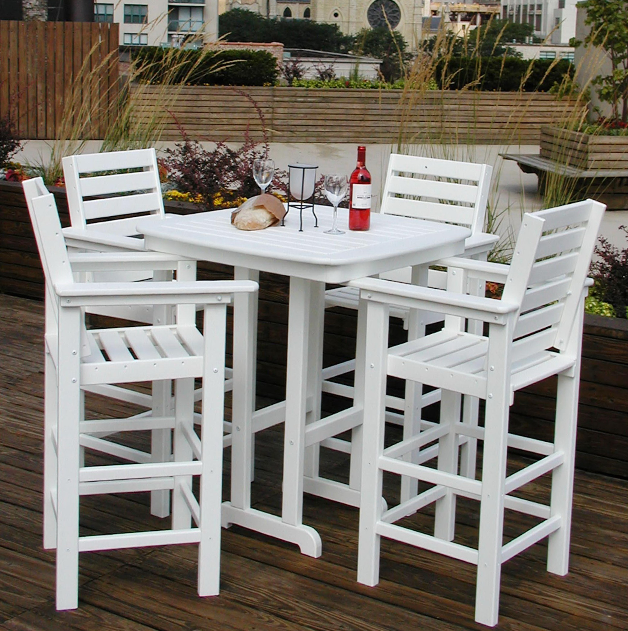 Square Pub Table And Chairs