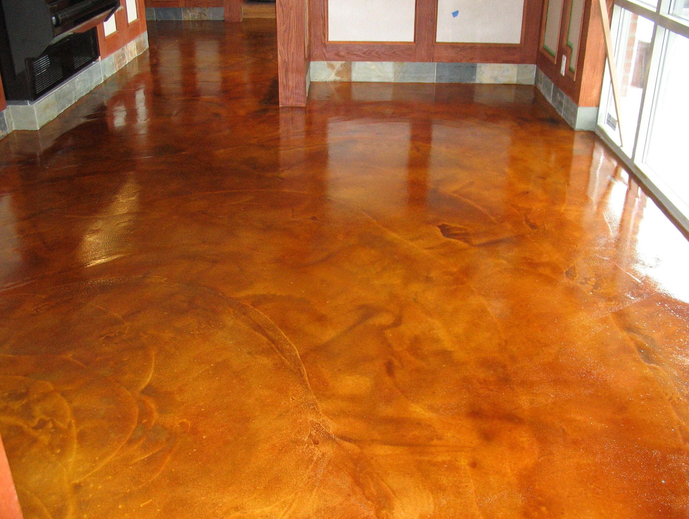 Stained Concrete Patio Cost
