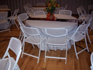 Table And Chairs For Rent