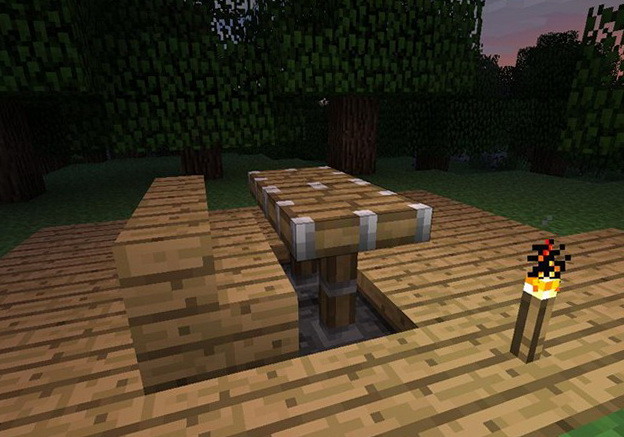 Tables And Chairs Minecraft