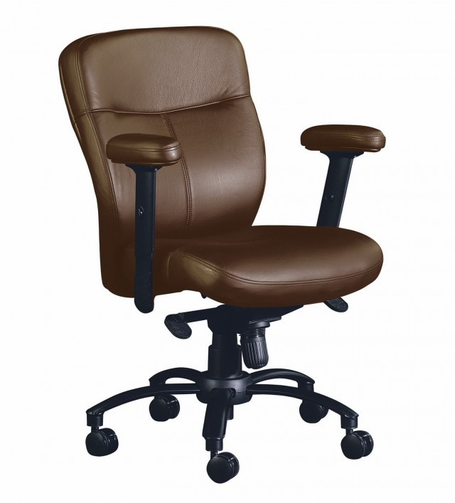 Tan Leather Office Chairs